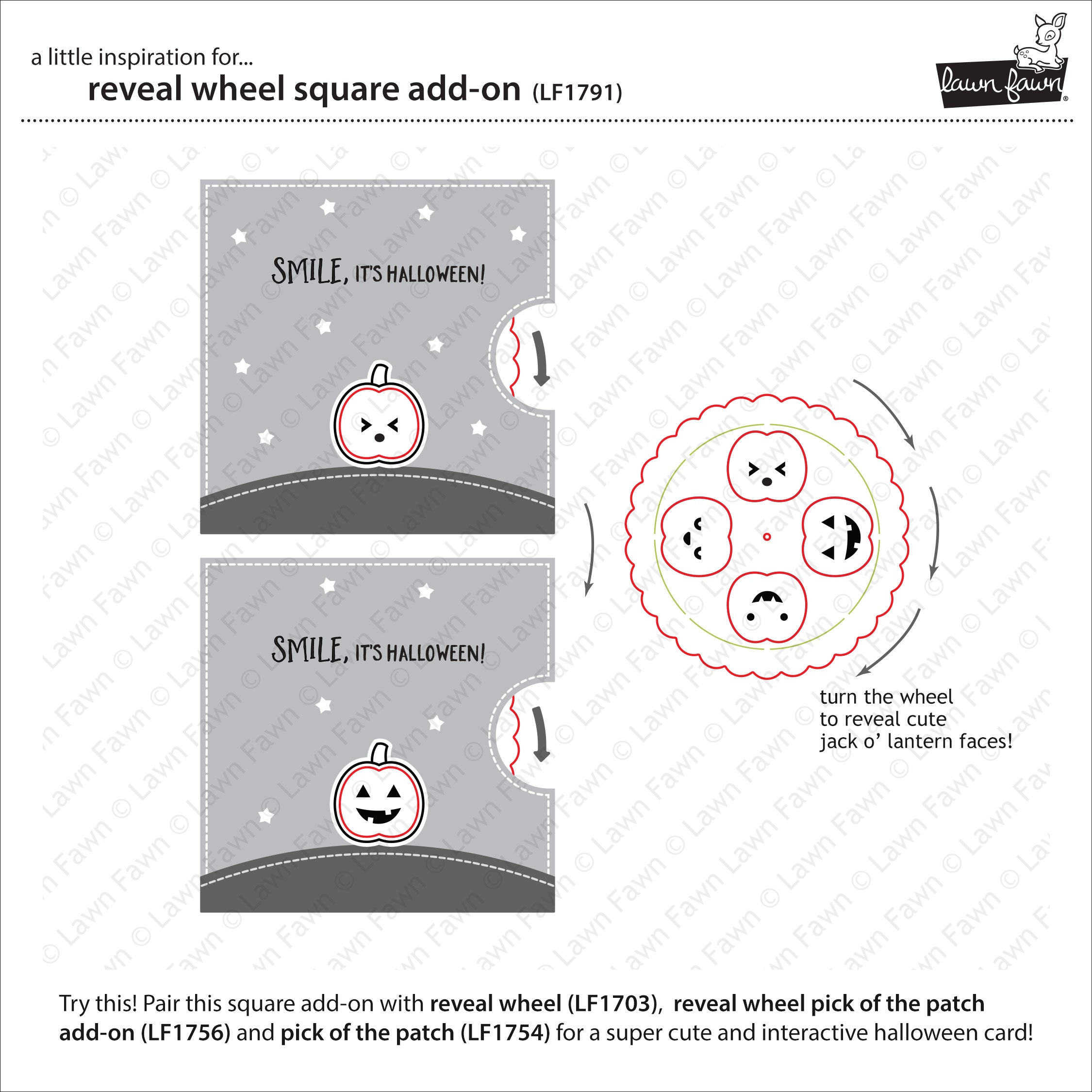 reveal wheel square add-on
