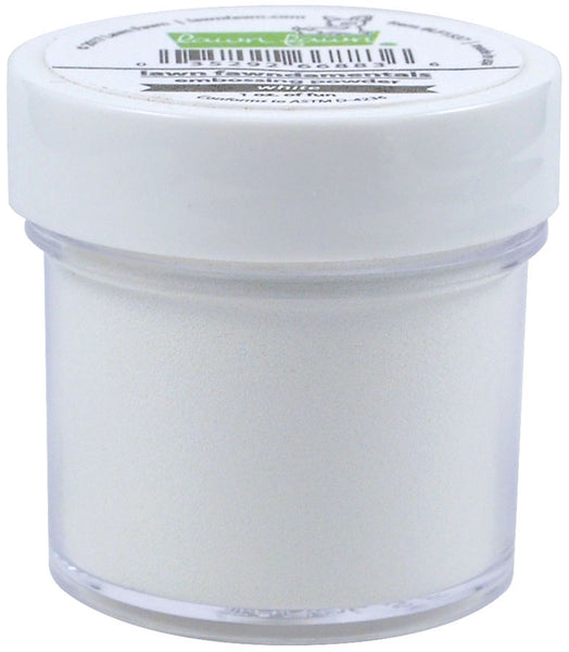 textured white embossing powder