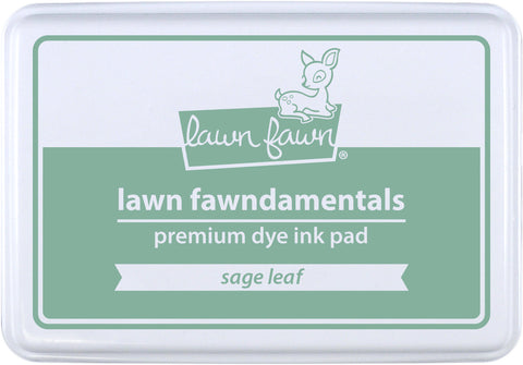 sage leaf ink pad