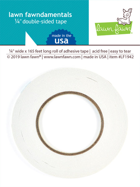 "1/4"" double-sided tape"