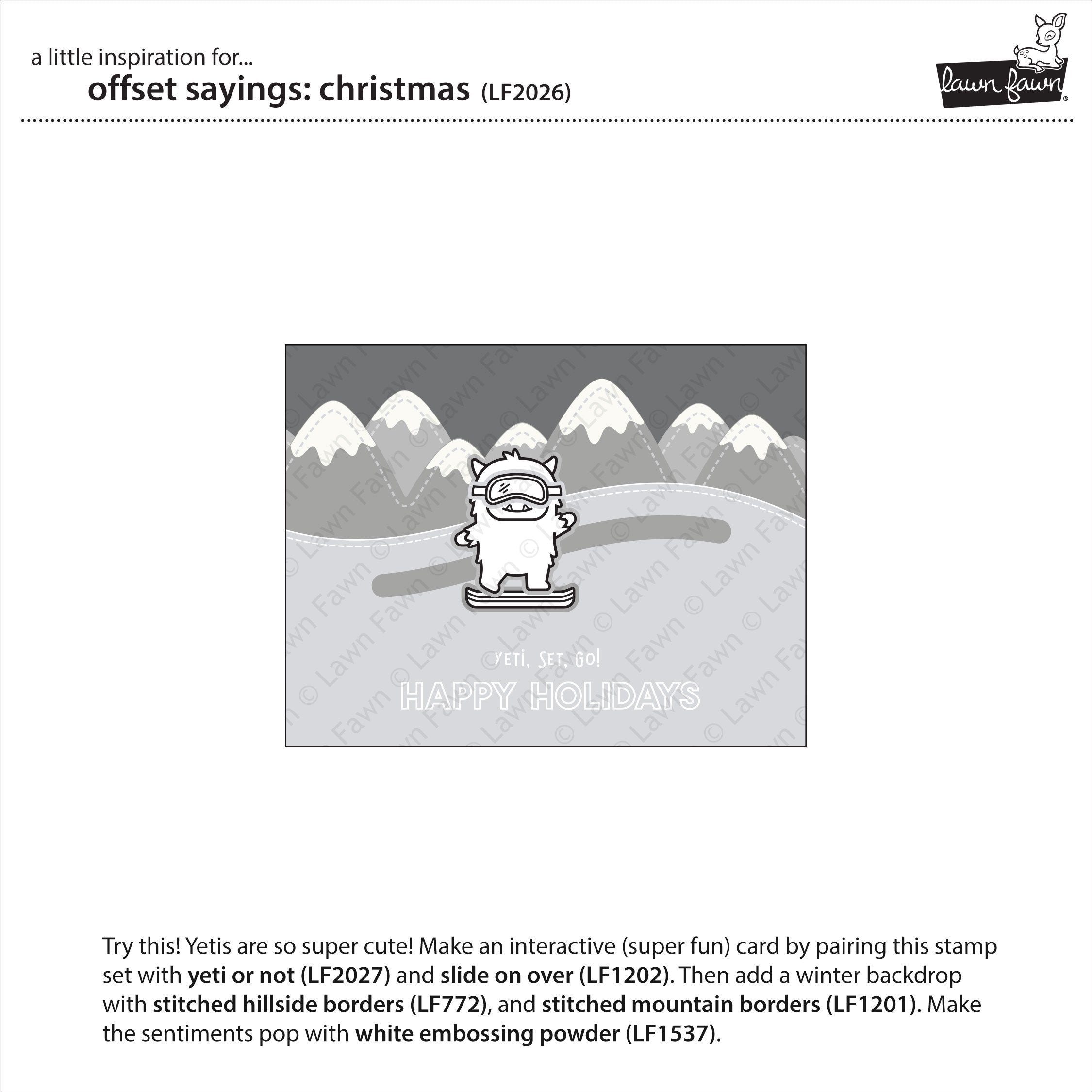 offset sayings: christmas
