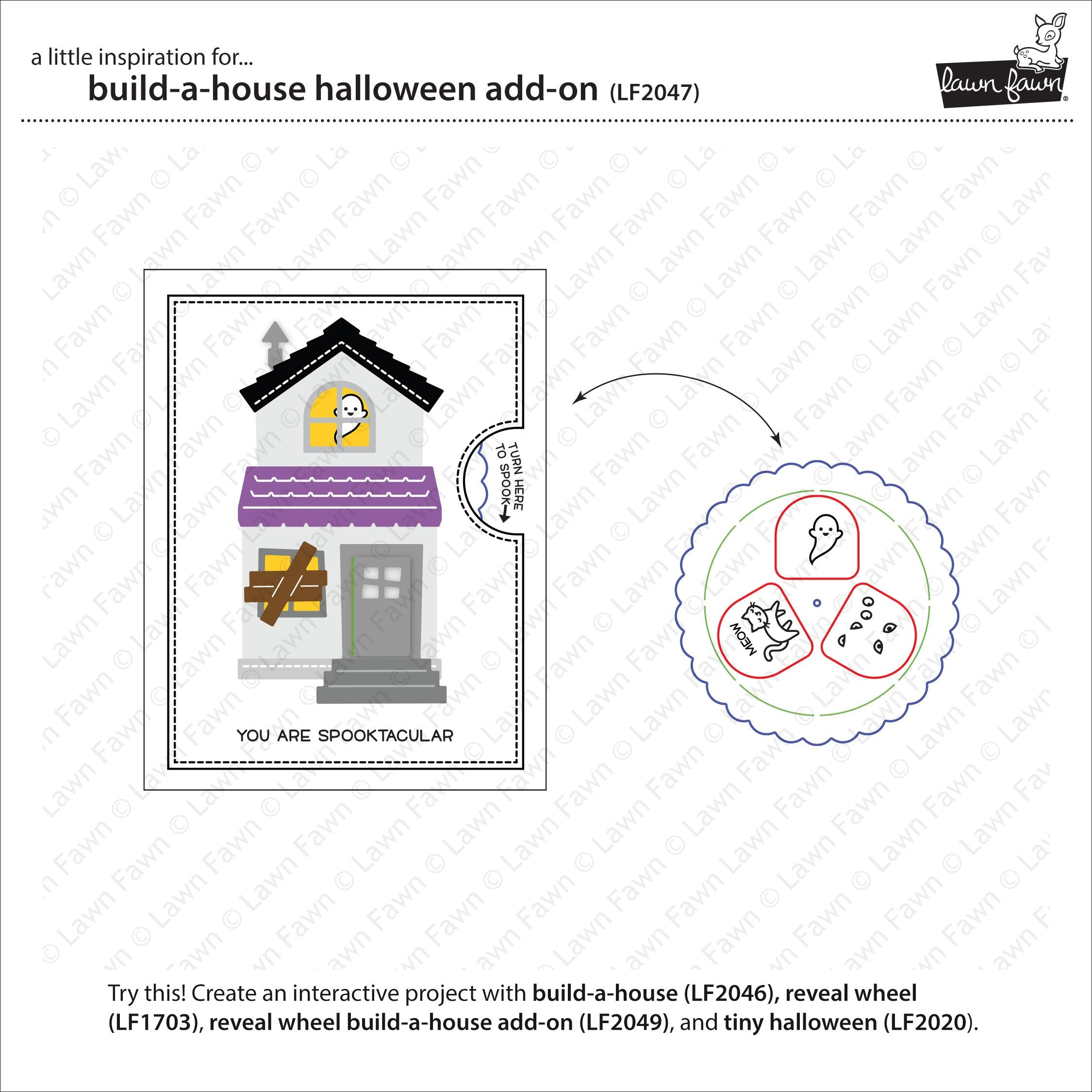 build-a-house halloween add-on