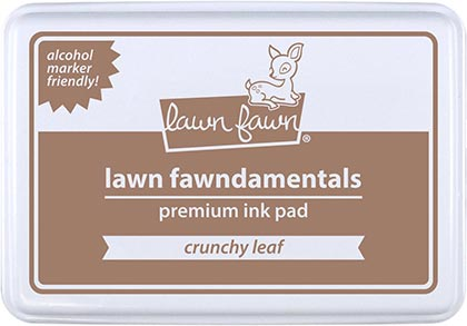 crunchy leaf ink pad