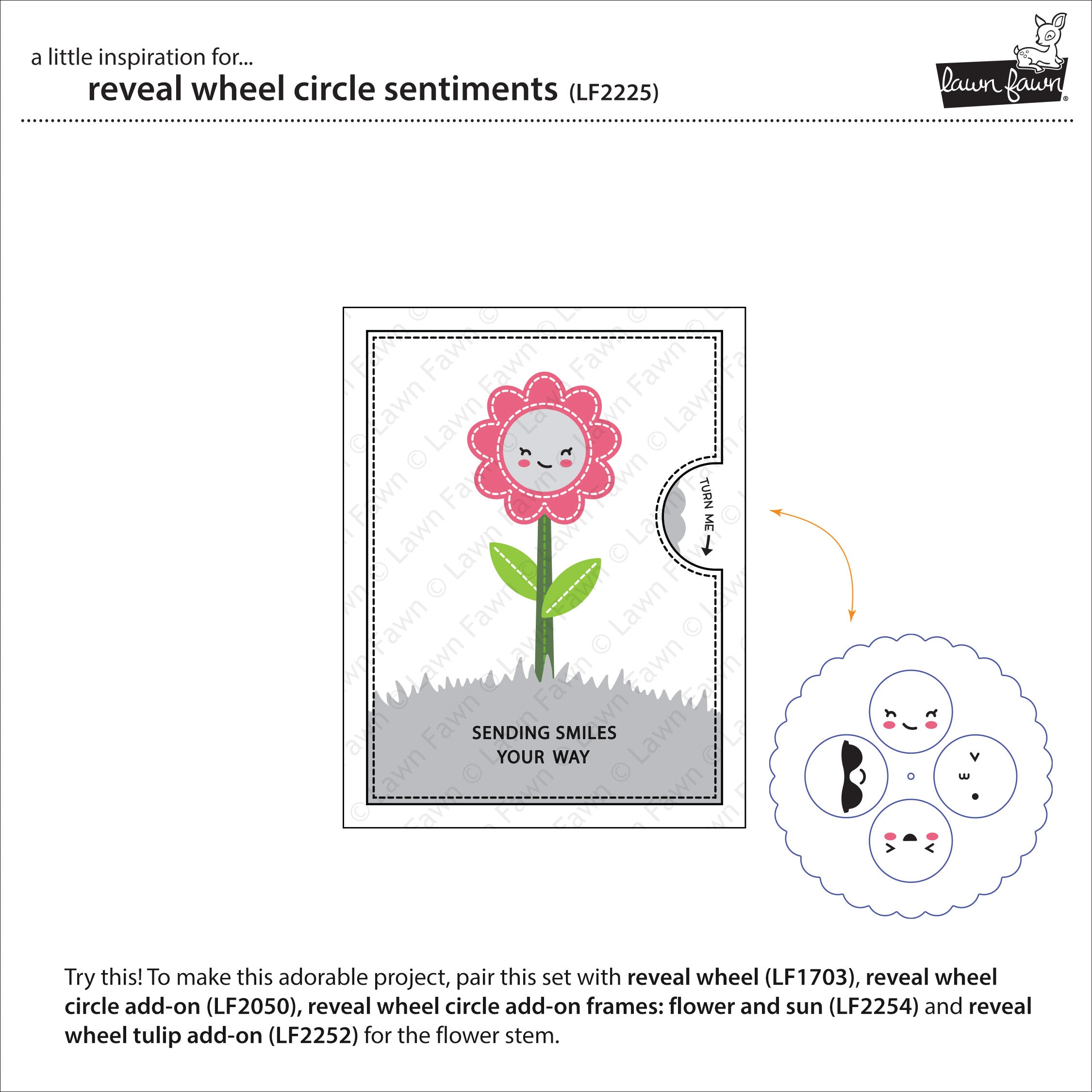 reveal wheel circle sentiments