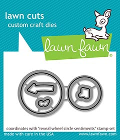 reveal wheel circle sentiments - lawn cuts