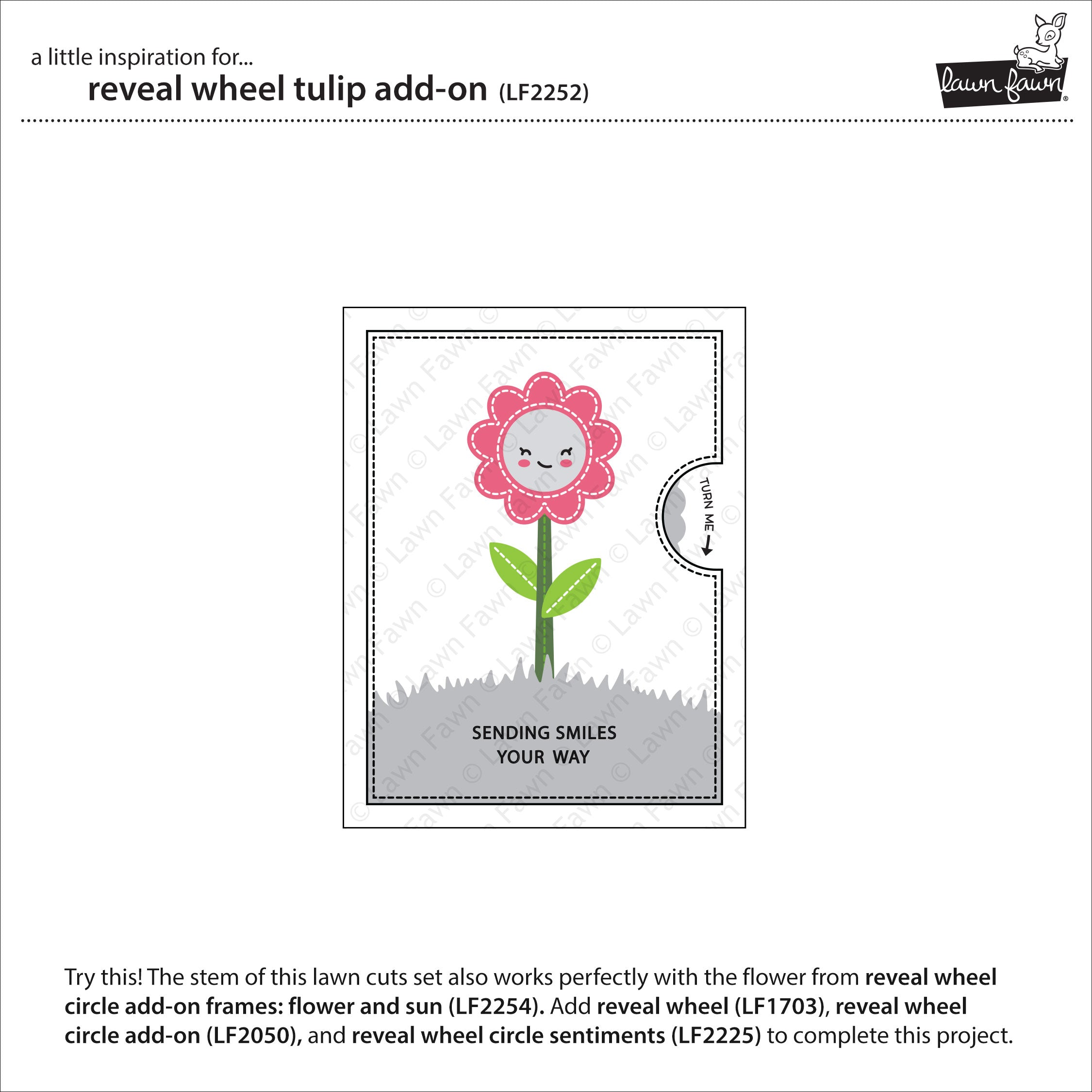 reveal wheel tulip add-on