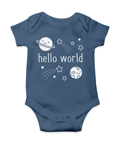 hello world onesie (3 - 6 months)