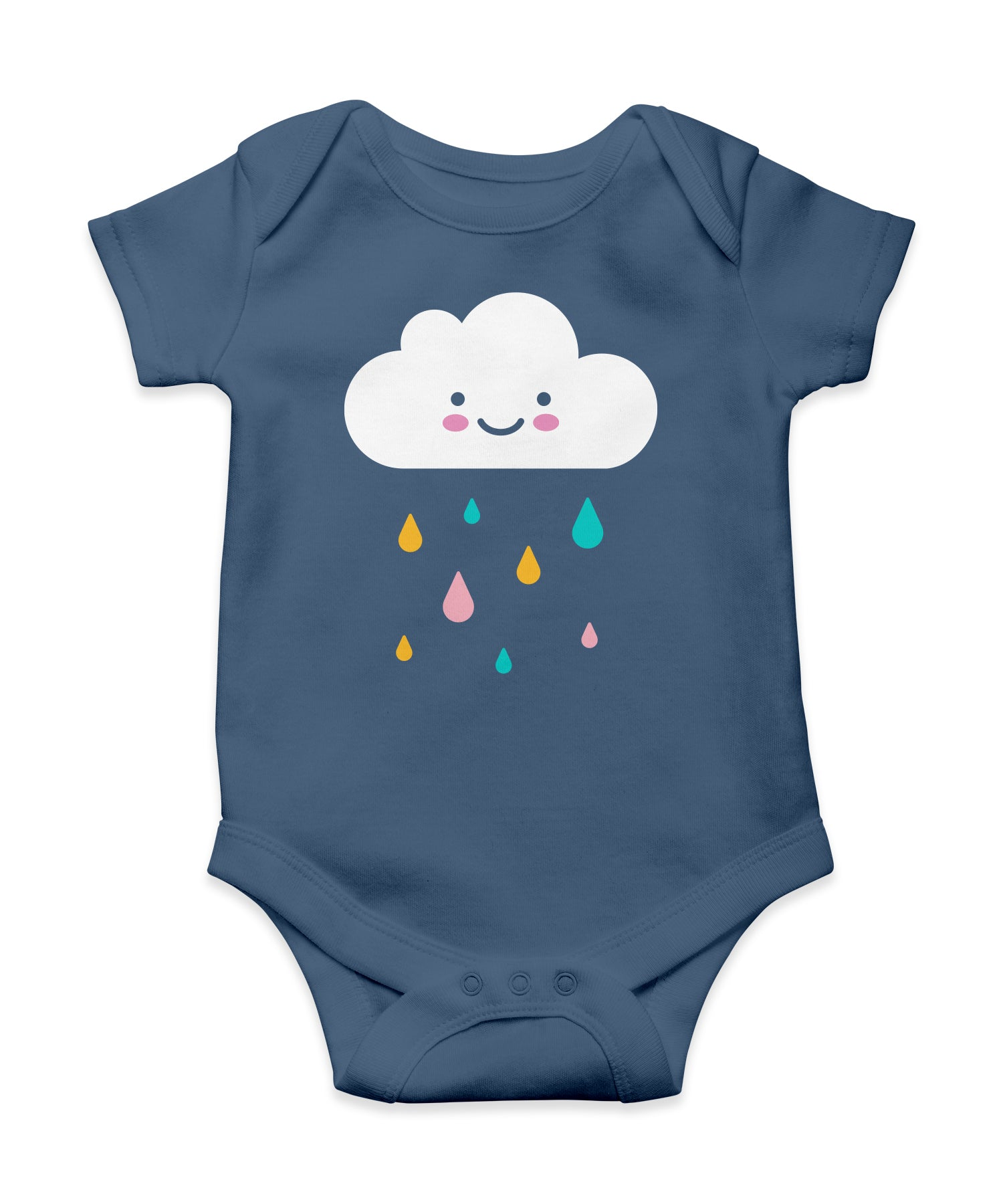 happy cloud onesie (3 - 6 months)