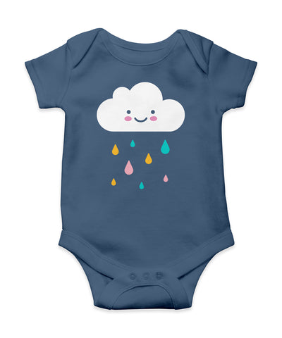 happy cloud onesie (6 - 12 months)