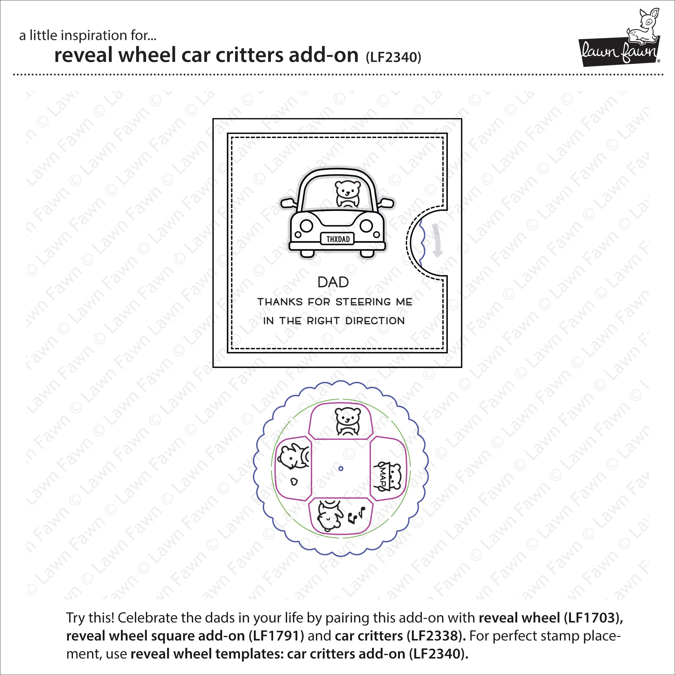 reveal wheel car critters add-on