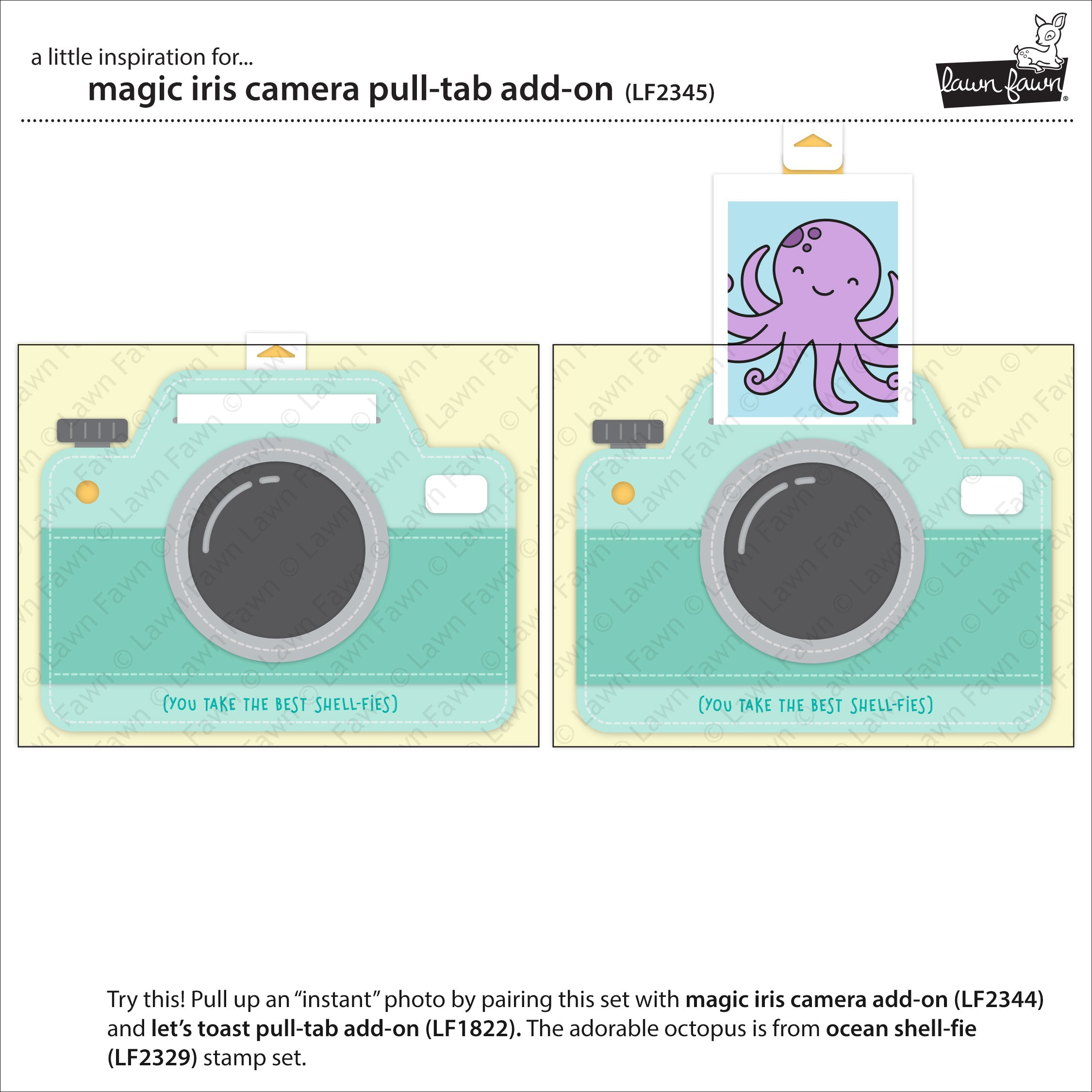 magic iris camera pull-tab add-on
