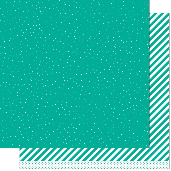 let it shine - teal sprinkle