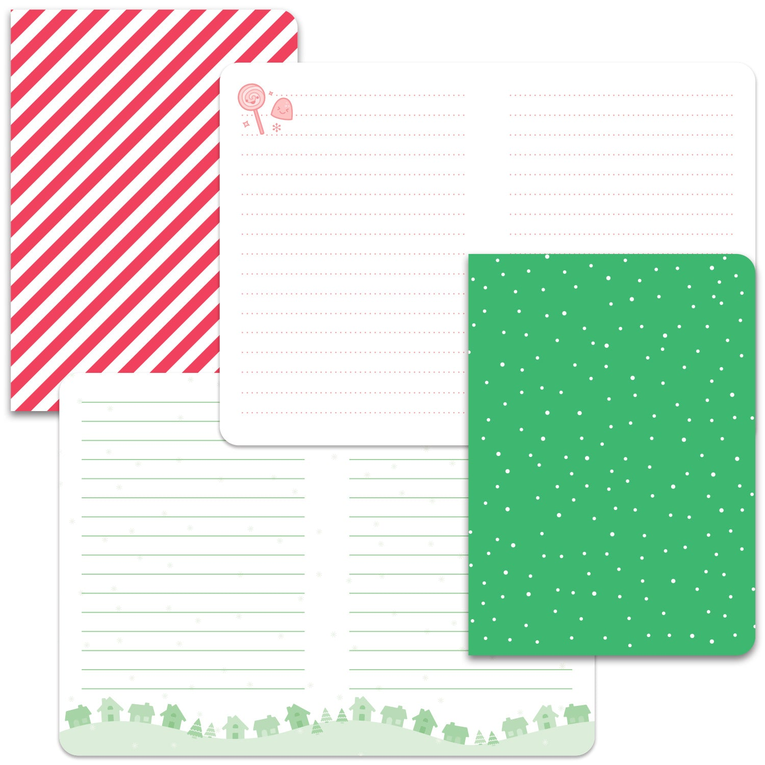 let it shine - mini notebooks