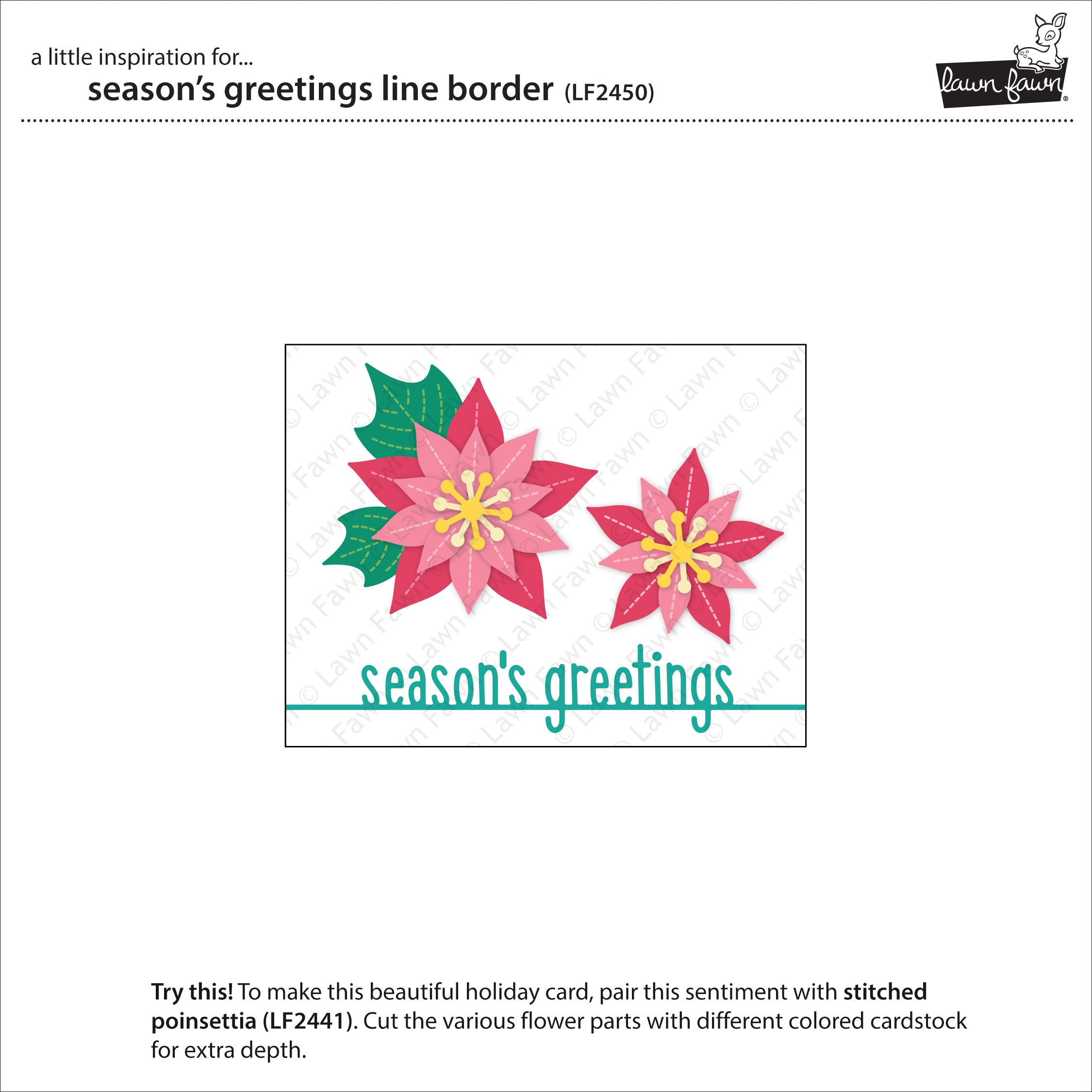 season's greetings line border