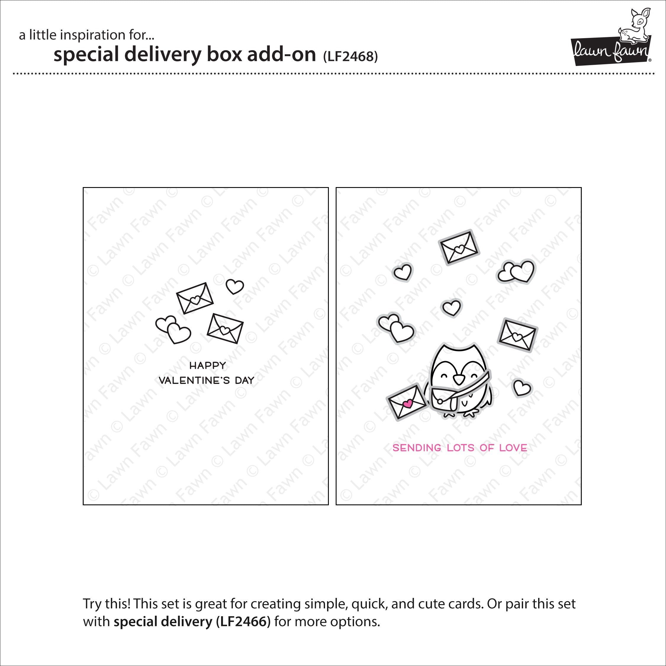 special delivery box add-on
