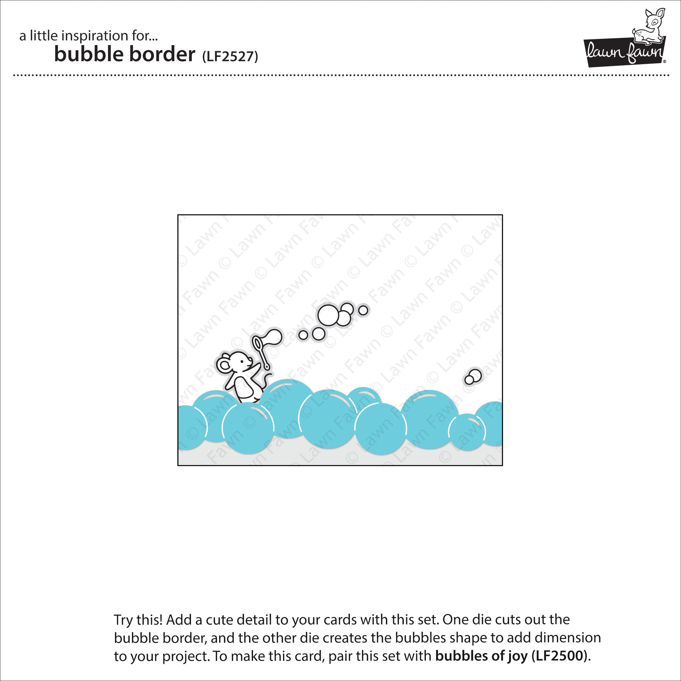 bubble border