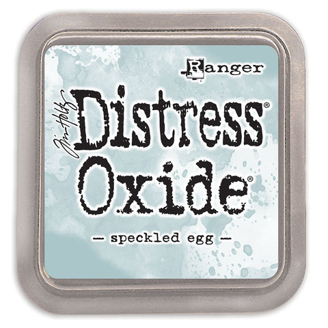 distress oxide - speckled eggshell