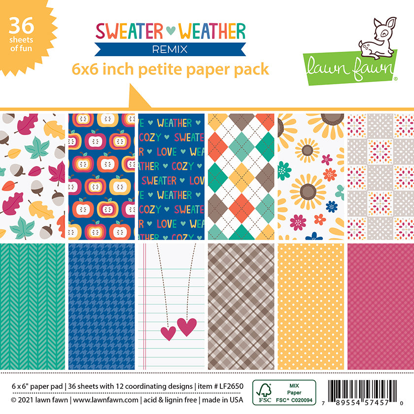 Sweater Weather Remix - Petite Paper Pack