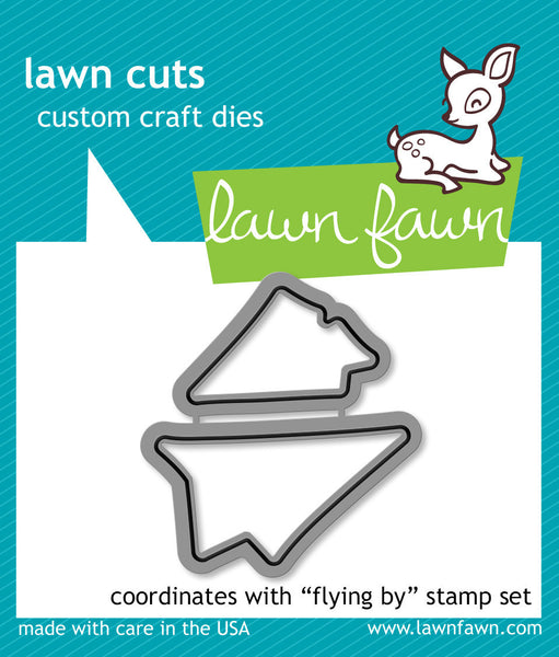 flying by - lawn cuts