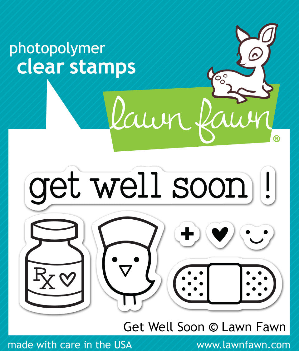 Image result for Lawn Fawn GEt Well Soon