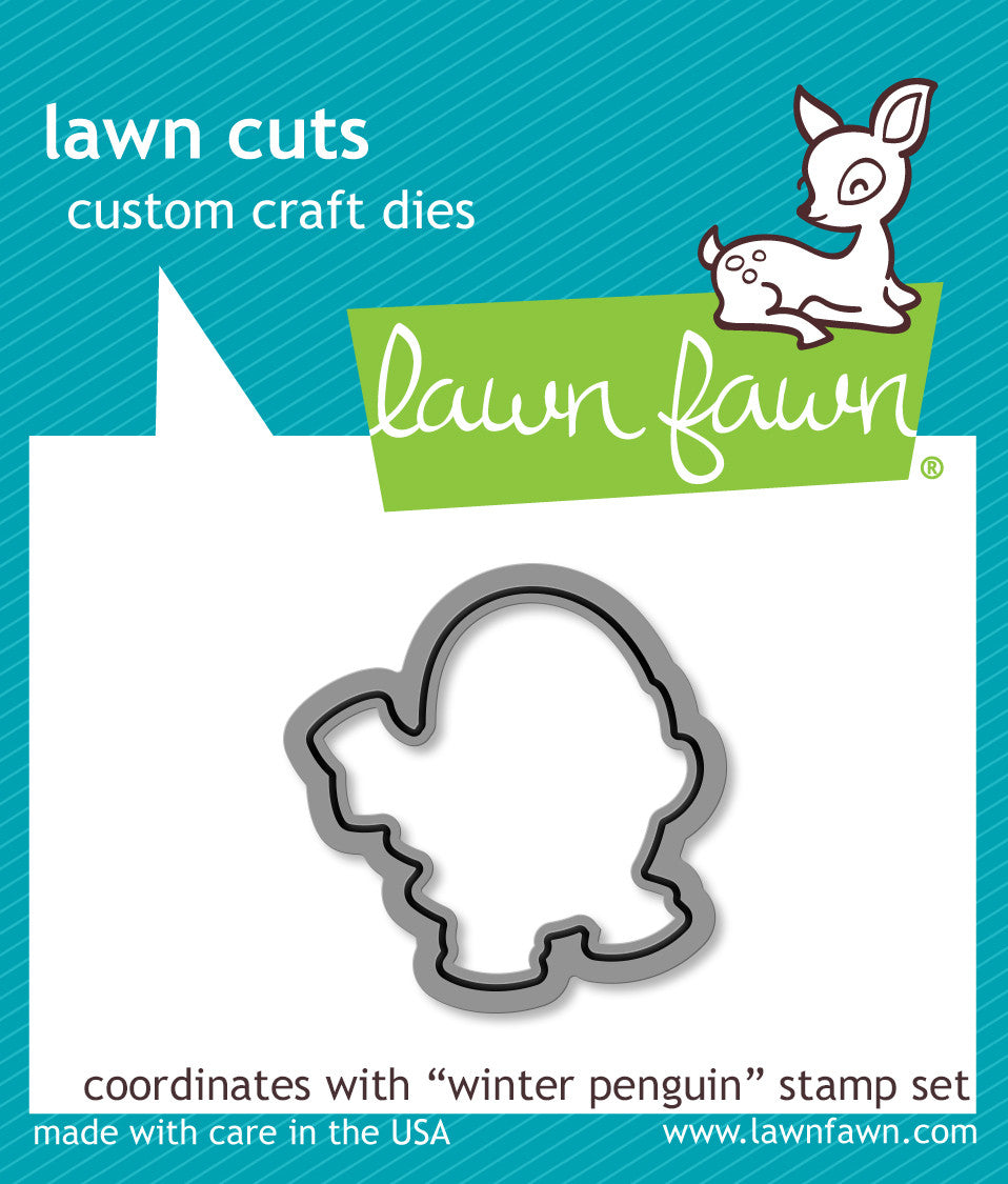 winter penguin - lawn cuts