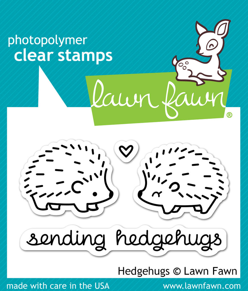Hedgehugs - stamps