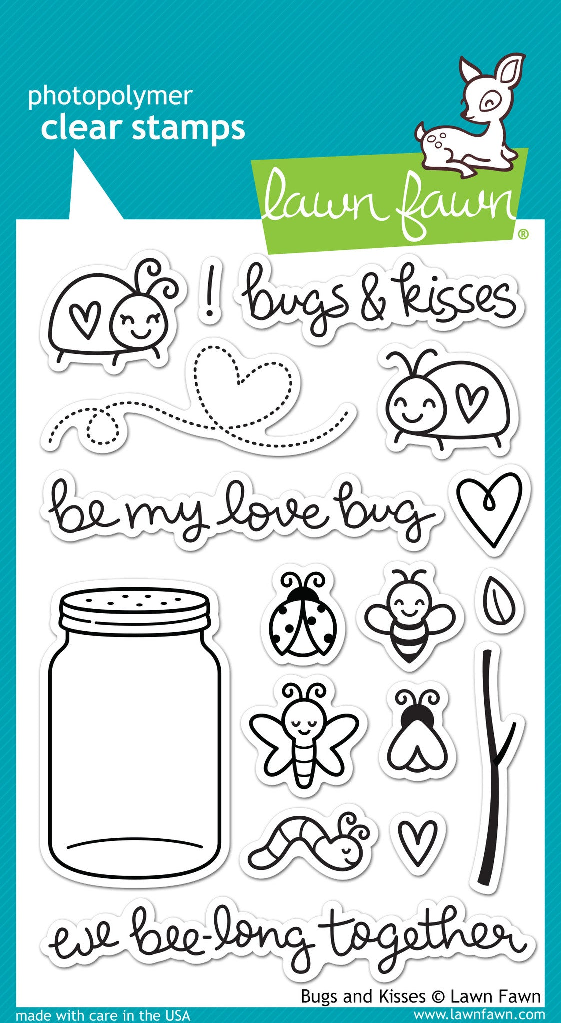 bugs and kisses