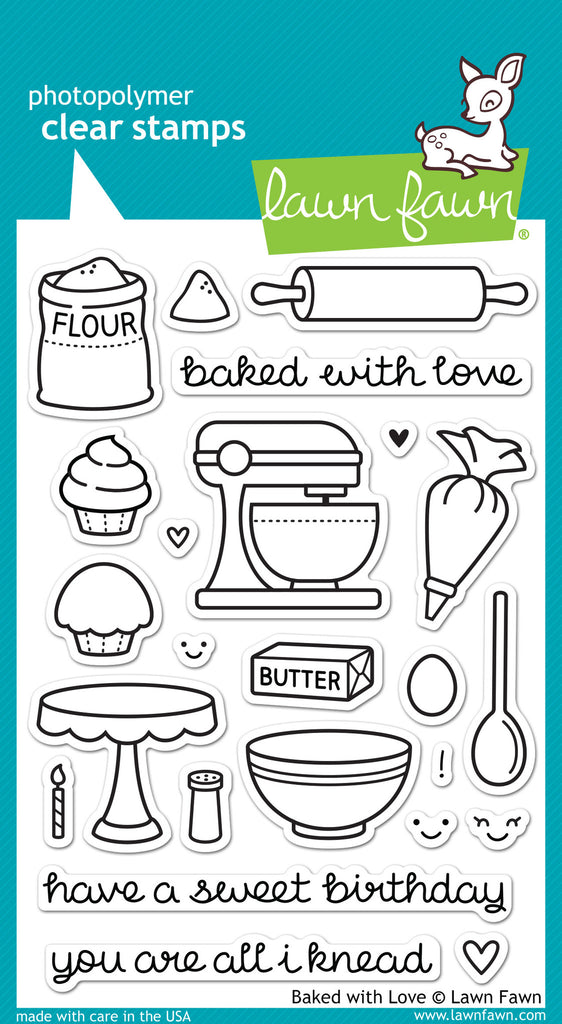 Baked with Love - stamps