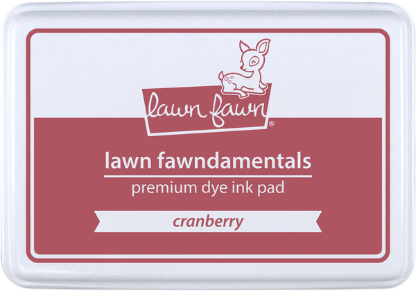cranberry ink pad