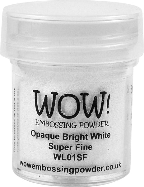 WOW white embossing powder