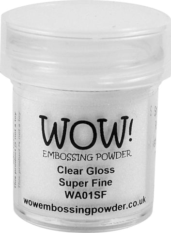 WOW clear embossing powder