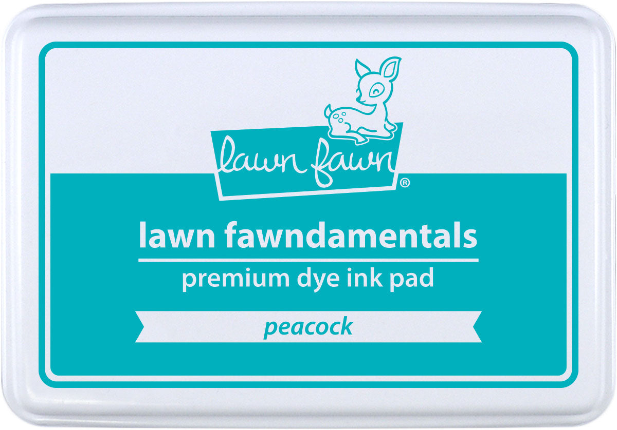 peacock ink pad