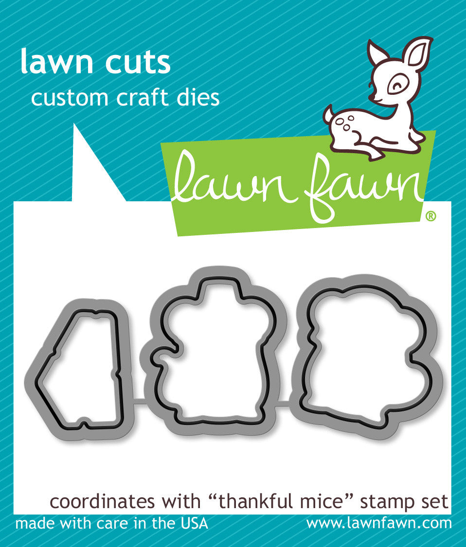 thankful mice - lawn cuts