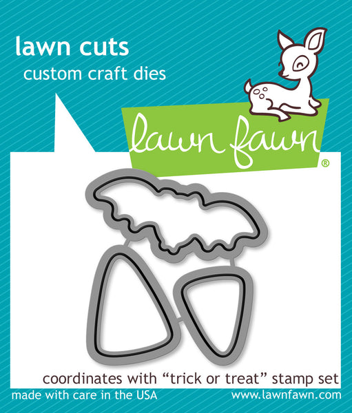 trick or treat - lawn cuts