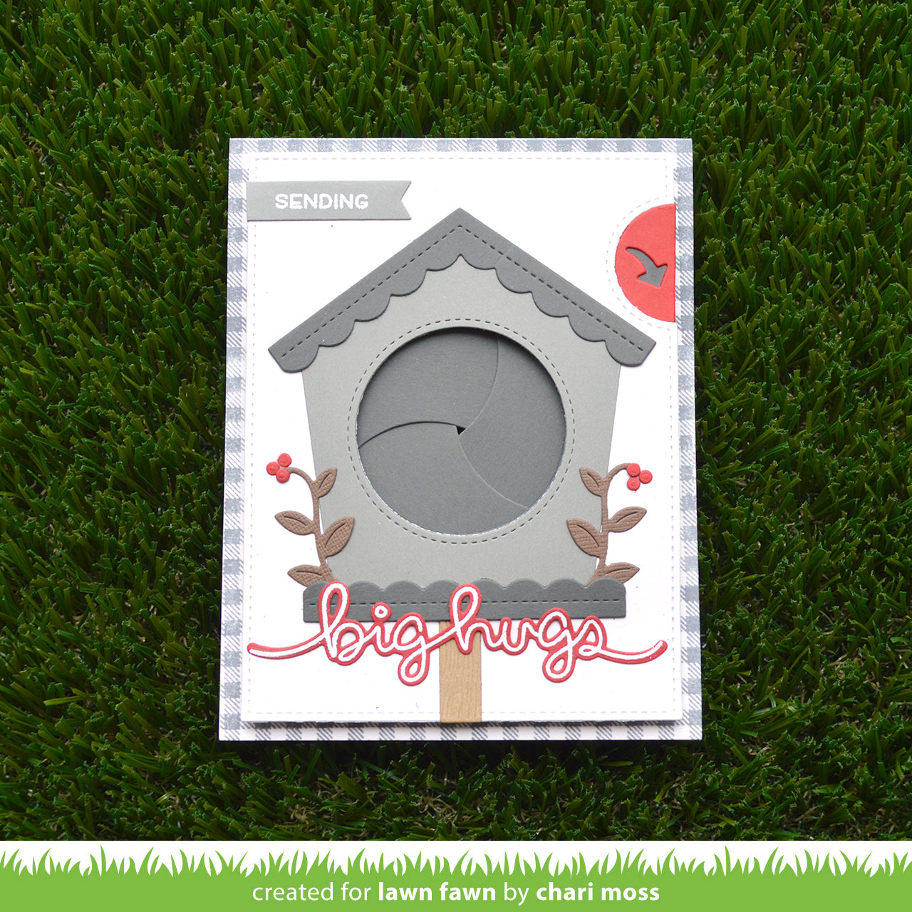 magic iris birdhouse add-on