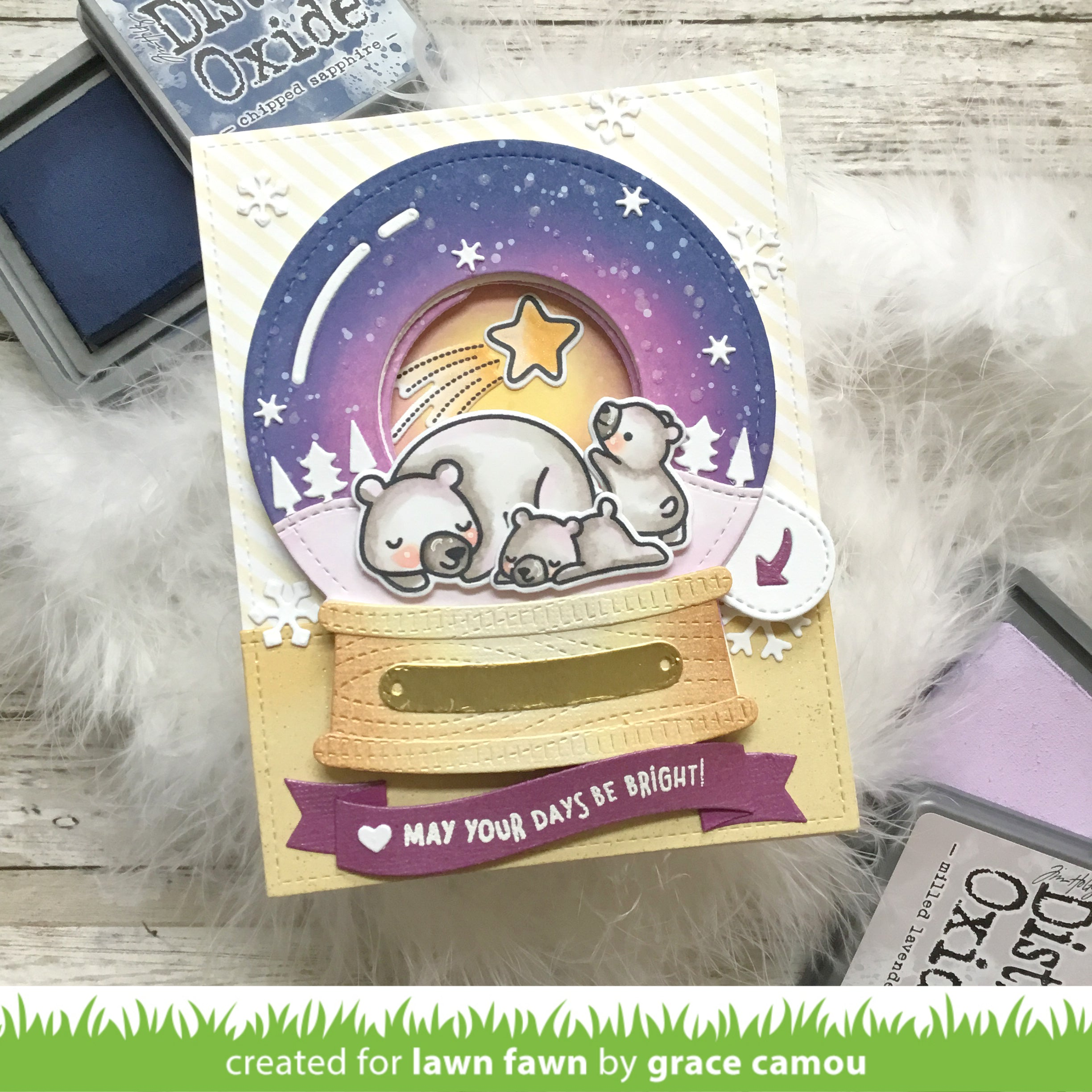 magic iris snow globe add-on