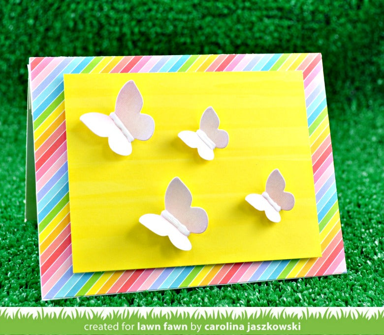 mini pop-up butterflies