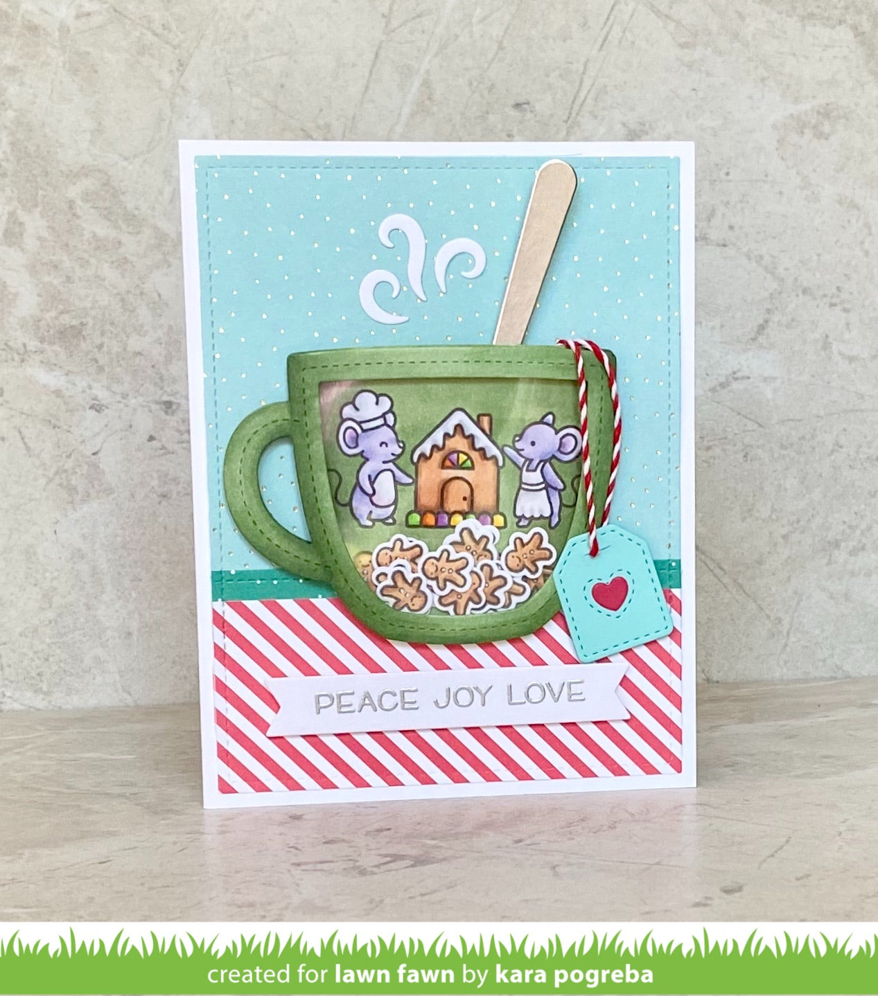 outside in stitched mug