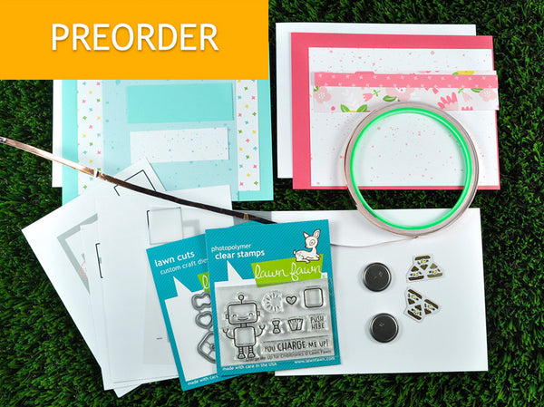 **pre-order** charge me up: light up card making kit