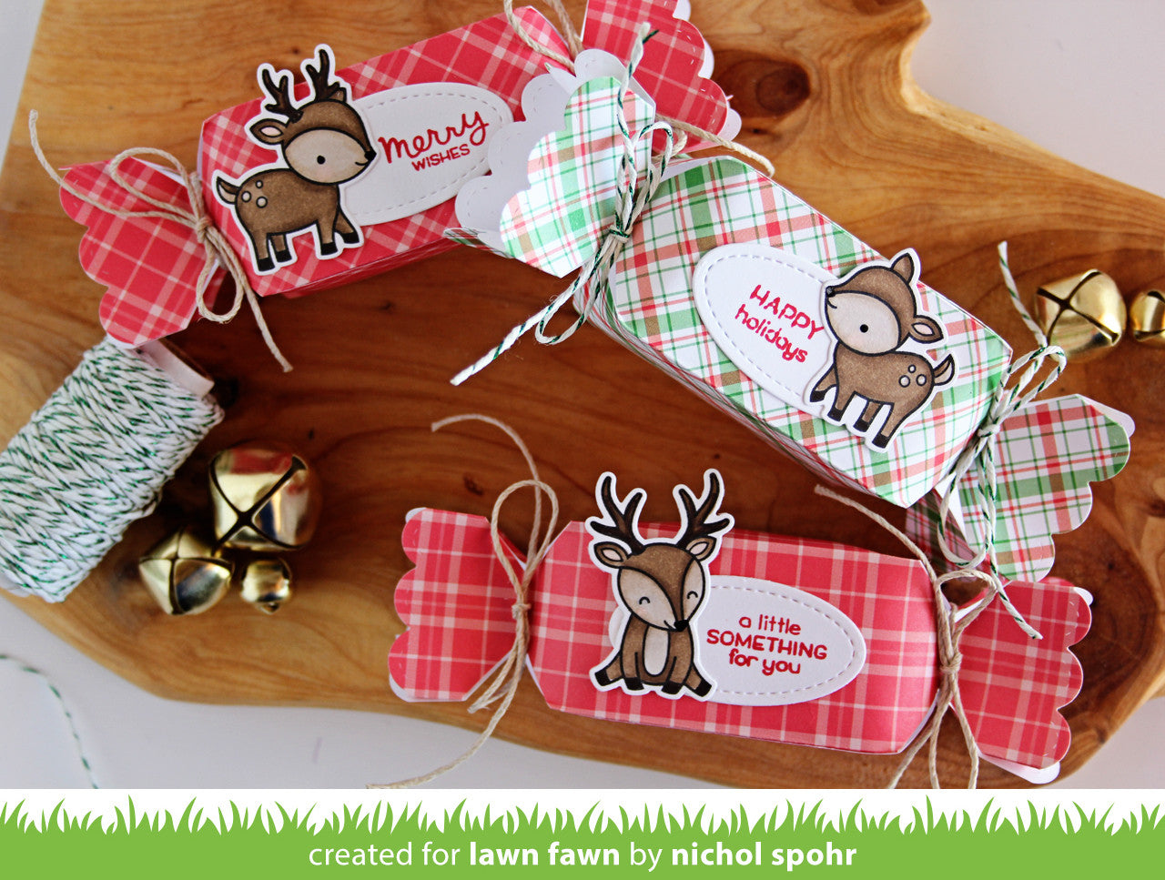perfectly plaid christmas petite paper pack
