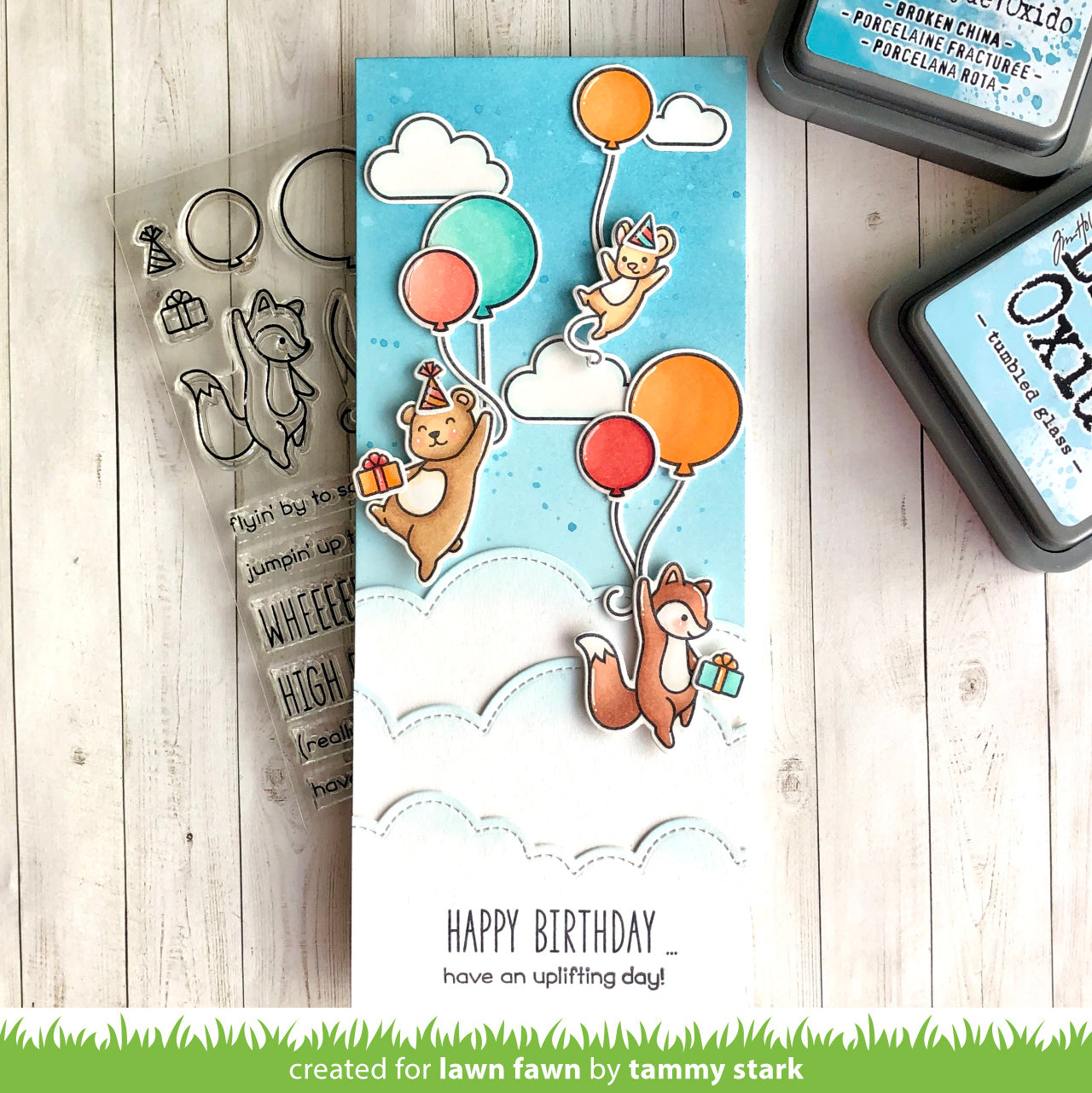 Stamp set Year Five CLEARANCE LAWN FAWN