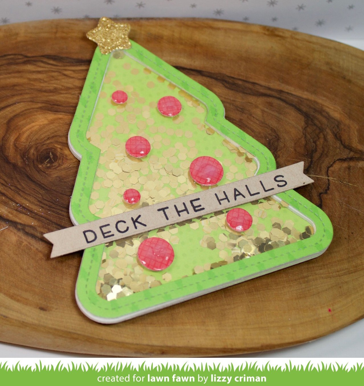 sparkle cardstock - holiday