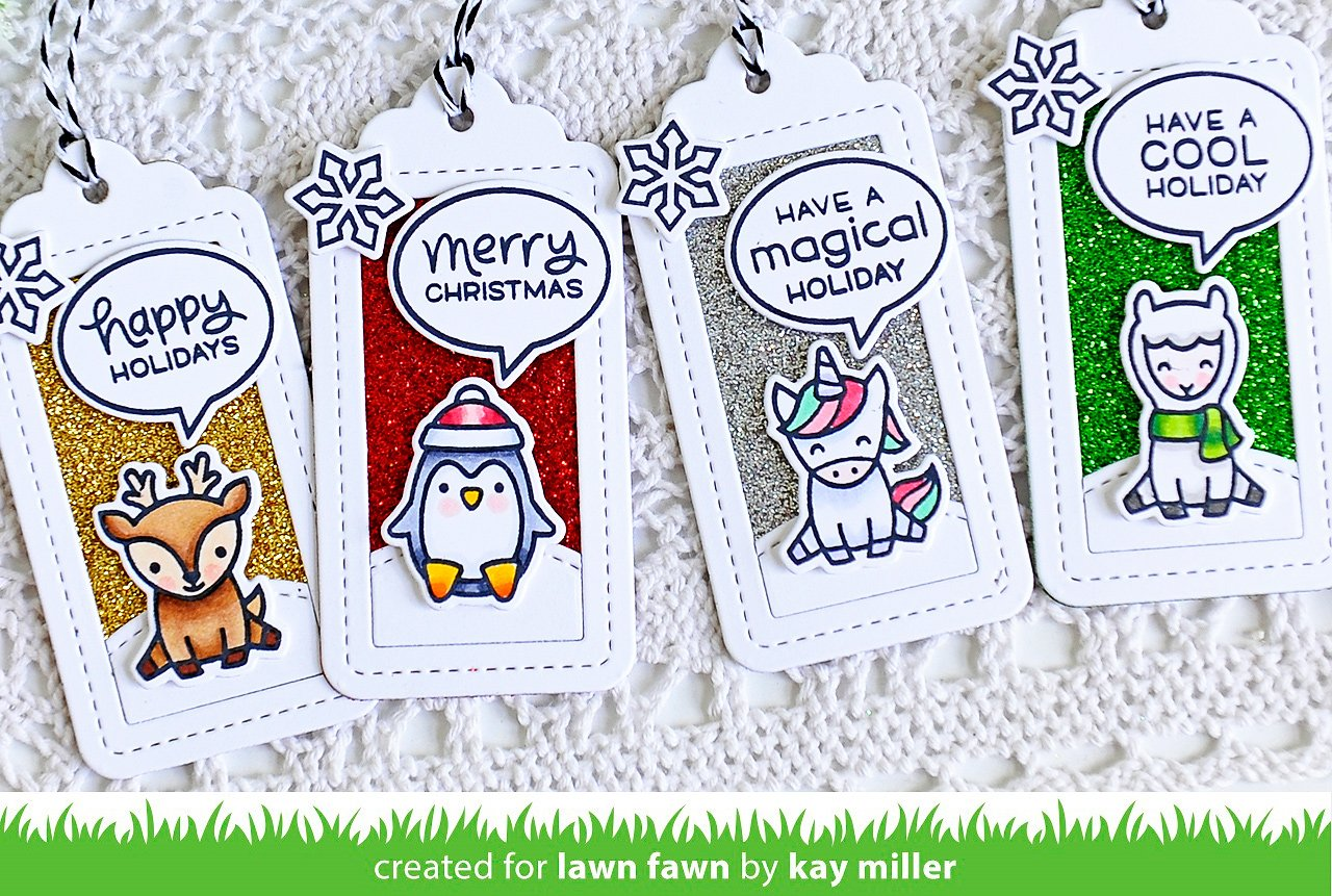 say what? christmas critters