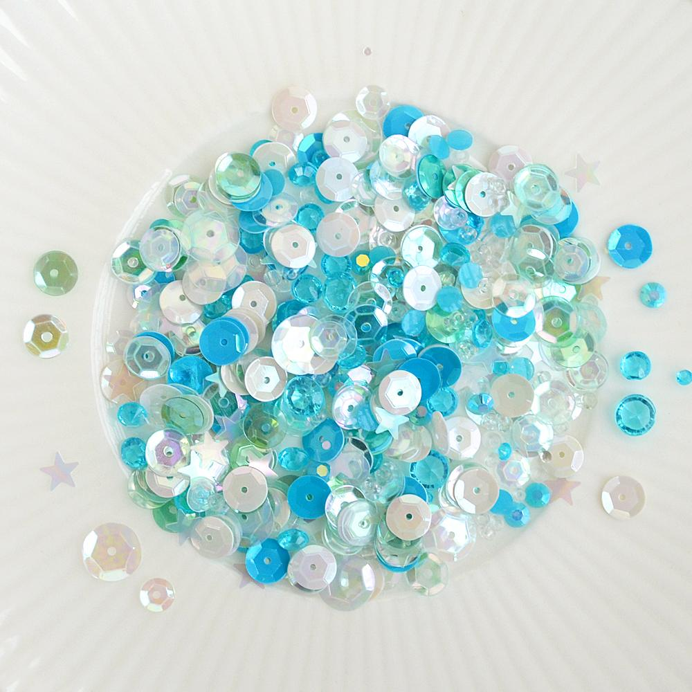 sea glass sparkly shaker selection
