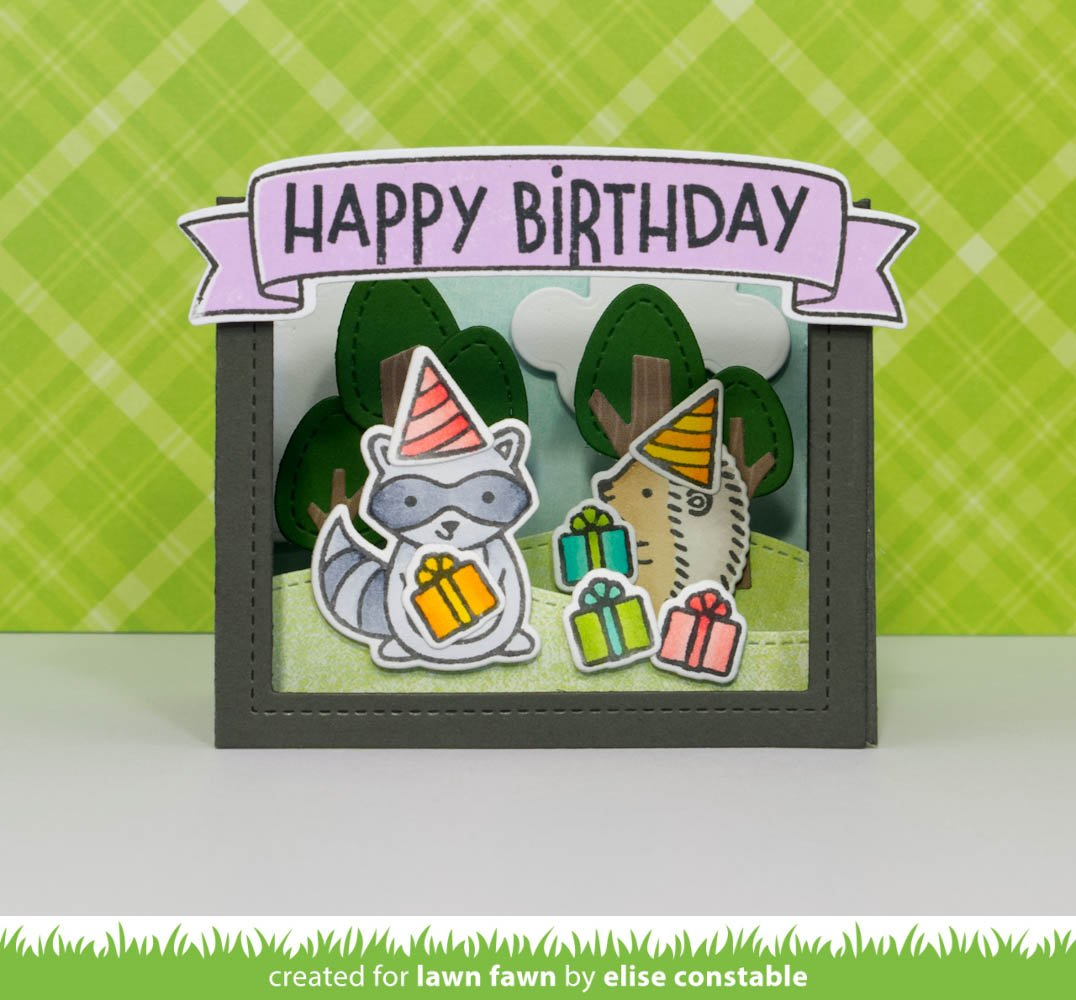 shadow box card