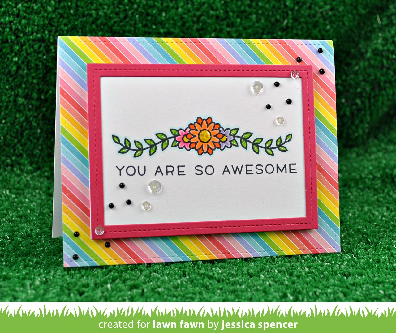 really rainbow petite paper pack