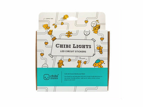 chibitronics chibi lights LED circuit stickers STEM starter kit