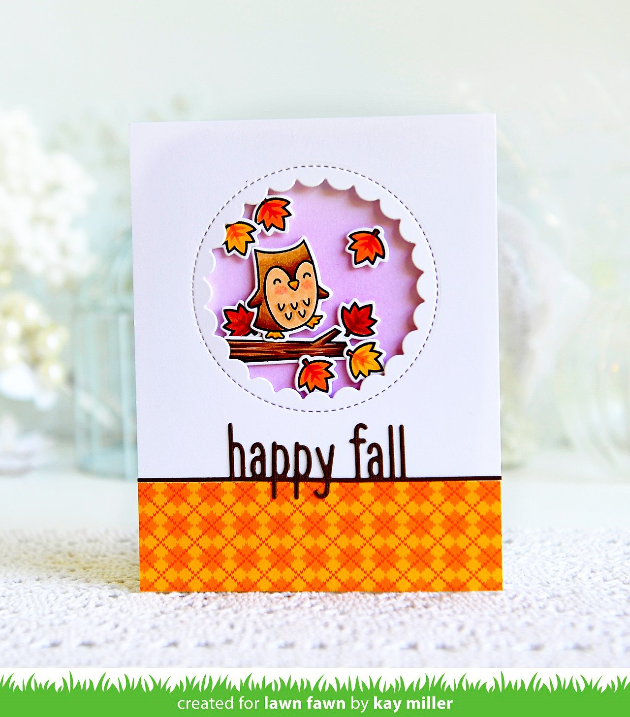 happy fall line border