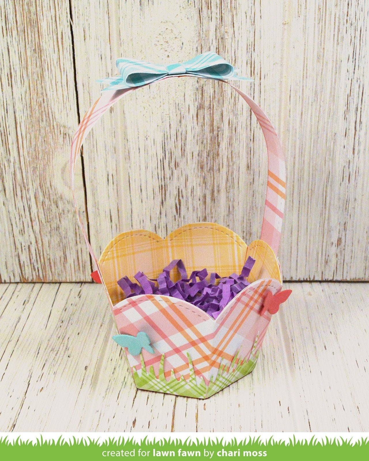 stitched basket