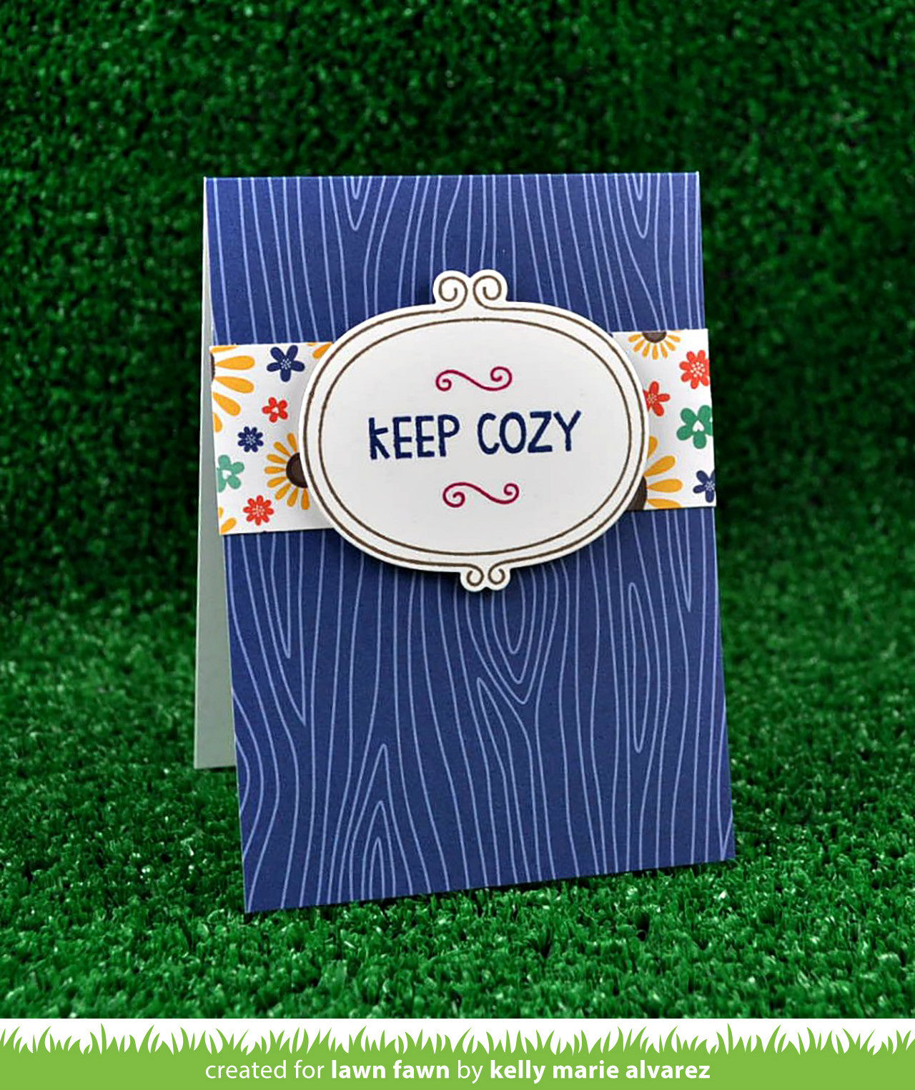 navy notecards